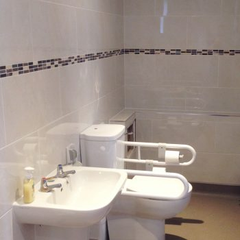 Disabled bathroom conversion in Ely