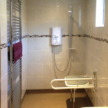 Accessible wetroom conversion