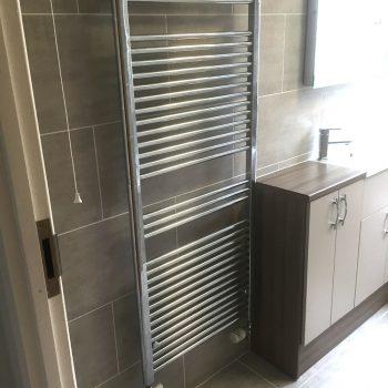 Modern cloakroom installation