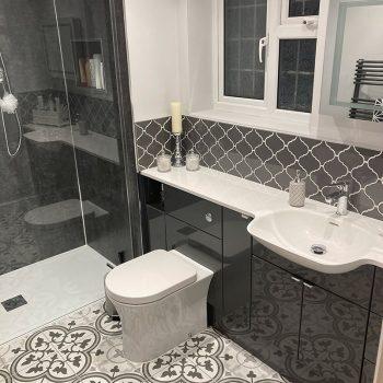 En-suite bathroon installation in Ely
